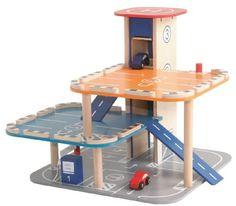 Roba - Garaje de juguete (37x47x48 cm) (98820) (importado)