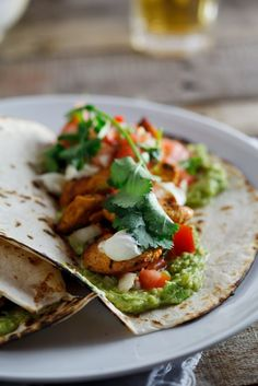 Chicken Tacos with Pico de Gallo - Simply Delicious