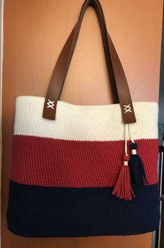 Crotchet Bags, Knitted Bags, Crochet Cord, Cute Crochet, Crochet Handbags, Crochet Purses, Crochet Dinosaur, Crochet For Beginners Blanket, Yarn Bag