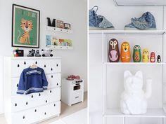 Decoración neutra en dormitorio infantil | Estilo Escandinavo