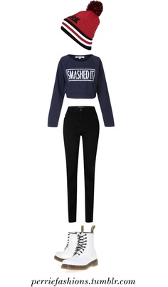 """Perrie Edwards inspired Cold Day"" by lisawallone ❤ liked on Polyvore"