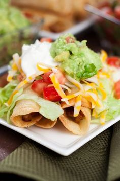 This easy recipe for Traditional Chicken Taquitos makes a crispy corn tortilla taquito stuffed with delectable shredded chicken then topped with ALL your favorite toppings make these taquitos anything but ordinary. Taquitos, flautas, or rolled tacos = a small corn tortilla that is filled and rolled then fried to perfection. There are a few things to […]