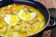Sajoer lodeh maken Nasi Goreng, Tofu, Thai Red Curry, Dinner, Ethnic Recipes, Dining, Food Dinners, Dinners