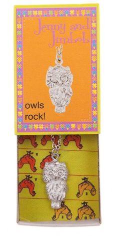Owls Rock! - Owl necklace