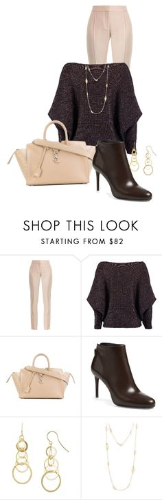 """""""Office Wear"""" by ny-silk ❤ liked on Polyvore featuring STELLA McCARTNEY, nooki design, Yves Saint Laurent, Prada, Aqua and Tory Burch"""