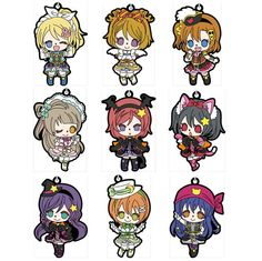 AmiAmi [Character & Hobby Shop] | Love Live! - Rubber Strap Dancing stars on me! ver. 9Pack BOX(Pre-order)