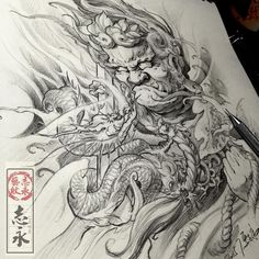Consulta esta foto de Instagram de @zhiyong_tattoo • 370 Me gusta