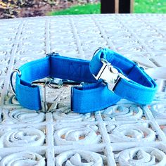 #dogcollar #bluecollar #collar #cotton #dogfashion #doghandmade #handcrafted #dogaccessories #dogshop Handmade Dog Collars, Cat Collars, Dog Bows, Therapy Dogs, Buy A Cat, New Puppy, Dog Accessories, Pet Toys, Your Pet