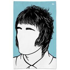 Liam Gallagher Tea Towel