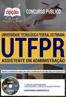 Apostila Preparatoria Concurso Universidade Tecnologica Federal Do