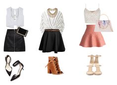 """""""mini skirt"""" by cynthiamass ❤ liked on Polyvore featuring Chicwish, Giuseppe Zanotti, Ted Baker, Free People, Gianvito Rossi, Topshop, sass & bide, 3.1 Phillip Lim, Marc Jacobs and Tomasini"""