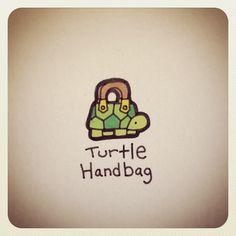 Turtle Handbag #turtleadayjune - @turtlewayne- #webstagram