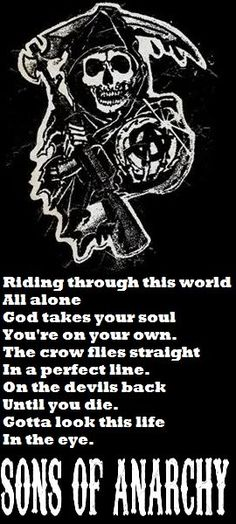 """This Life"" by Curtis Stigers  The Forest Rangers.  Theme from Sons of Anarchy  SOA"