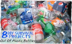 8 DIY Survival Projects Out Of Plastic Bottles