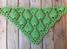 Original shawl with high relief - Material, How to do  For those who do not have much skill in...