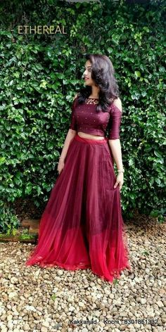 50 Ideas for how to wear shirt dress long skirts – Skirt Ideen Long Gown Dress, Long Shirt Dress, How To Wear Shirt, Long Frock, Lehnga Dress, Frock Dress, Long Skirt And Top, Tops For Long Skirts, Long Skirt Top Designs