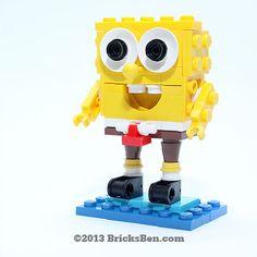 LEGO SpongeBob SquarePants von BricksBen auf Etsy