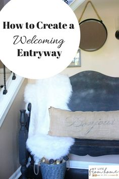 How to create a Welcoming Entryway- foyer- ideas- small foyer ideas- room decor ideas- wall gallery- gallery wall- rustic home decor- wall decorating ideas- decoration ideas- DY- Do it Yourself- home decor- room design