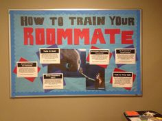Latest bulletin board! Roommate conflict tips