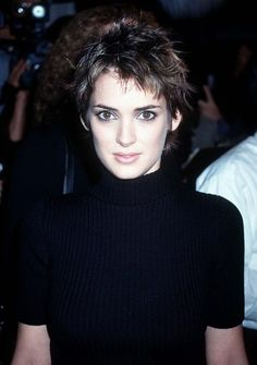 Winona Ryder and Pixie Cut