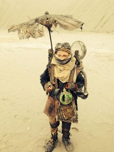 wasteland little one / post apocalyptic cosplay for kids / <3