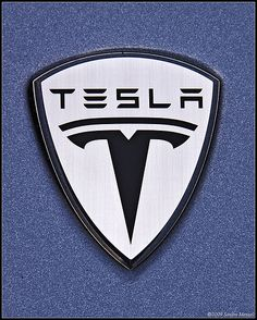 Tesla. The greenest car insignia.     lessonator.com