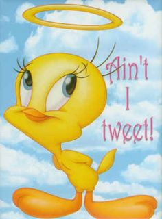 reminded me of nan :) @Linsey Riley  tweety bird quotes | Ain't I Tweet!