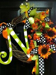 Monogram Wreath!  :)