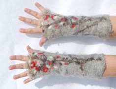 Hey, I found this really awesome Etsy listing at http://www.etsy.com/listing/125194279/felted-mittens-felted-cuffs-fingerless