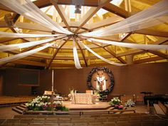 church decorating ideas for easter - Google Search