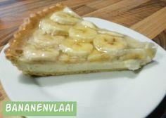 Bananenvlaai met witte chocolade   Jolanda's Bakhuisje