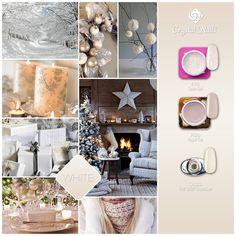#white #christmas #nails #christmasnails #nailart #gelpolish #nailgel