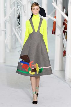 Delpozo Fall 2015 Ready-to-Wear Fashion Show - Frances Coombe