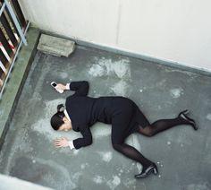 Sexy Dead Businesswoman Heels Legs