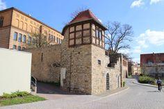 """#Merseburg - Teil der alten Stadtbefestigung. Die """"Schwarze Bastion""""  #diewocheaufinstagram #ausflug #momentaufnahme #altstadt"""