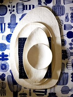 cheeseboard, platters and bowls in white, via elephantceramics.