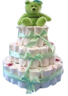 Baby – Disposable Diaper Cake – Rolled — craftbits.com