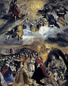 El Greco-The Modena Triptych (1568) - Google Search