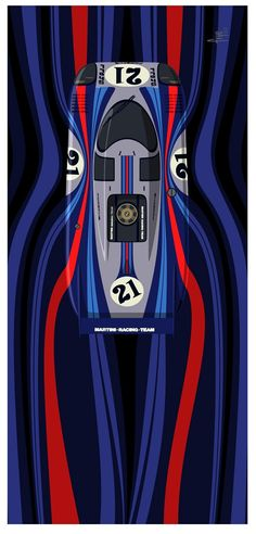 """Porsche 917LH """"Martini"""" Le Mans '71"""