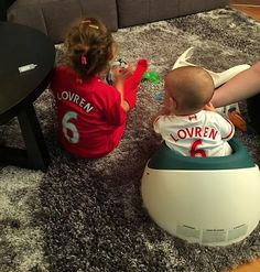 Daddy's biggest supporters ❤️❤️ #inbaddaysandgooddays Dejan Lovren, Steven Gerrard, Walking Alone, Liverpool Fc, Daddy, Football, Random, Big, Instagram