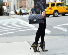 shoes # bags  # chanel # street style # girls # black # outfit