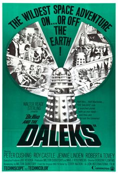 Dr. Who and The Daleks Movie Poster Digital Art Print – Falstaff Trading  Dr. Who and the Daleks (1965) was the first of two Doctor Who films made in the 1960s. #doctorwho  $9.99