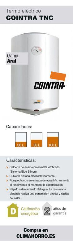 Termo eléctrico Cointra gama ARAL TNC