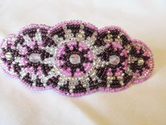 Shared Treasures Boutique - Beaded Barrette / Hair Clip  - Handmade in Guatemala, $16.00 (http://www.sharedtreasuresboutique.com/beaded-barrette-hair-clip-handmade-in-guatemala/)