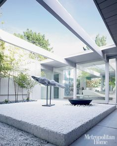 indoor outdoor living; marika sakellariou's eichler home – mochatini | enhancing the everyday