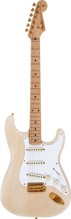 Musical Instruments:Electric Guitars, 1957 Fender Mary Kaye Stratocaster White Solid Body ElectricGuitar, Serial # 14963.... Image #1