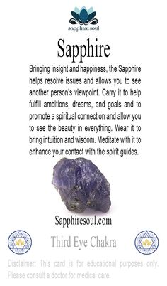 #gemoftheweek The signature stone of #sapphiresoul !  #happybirthday all #september babies!