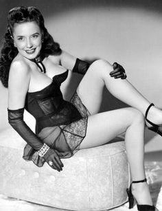 """A Sactown girl:  Stripper Amy West. During World War Two, Amy & her mother, Annie came to Sacramento, California. Amy went to work at Mather Army Air Field. After World War II, she got a job stripping at the President's Club on Market Street in San Francisco. In 1947, she made the film """"A Night at the Follies"""" in Los Angeles."""