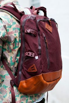 maroon bag Color- similar generational vein as the yellow mustard color....