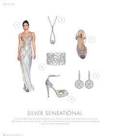 Silver Sensational #inspiration #ideas #weddingideas #weddinginspiration